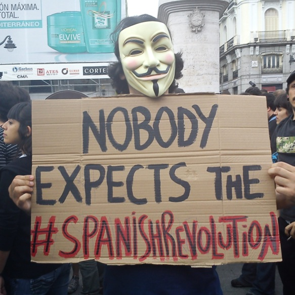 talk about a #spanishrevolution